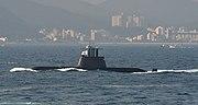 ROKS Ahn Junggeun, a Sohn Wonyil-class submarine