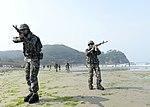 2015.7.14. 연평부대 - 지뢰탐지작전훈련 14th, July, 2015, ROK Marine YP Unit-Training to detect of mines (19575740020).jpg