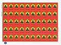 2015. Герб Докучаевска на листе почтовых марок.jpg