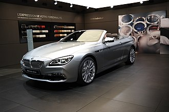 BMW 6 Series (F06/F12/F13) - 6 Series Convertible (facelift)