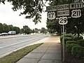 2016-09-29 17 41 26 View south along U.S. Route 17 Business, U.S. Route 29 Business and west along U.S. Route 211 (Broadview Avenue) at Lee Highway in Warrenton, Fauquier County, Virginia.jpg