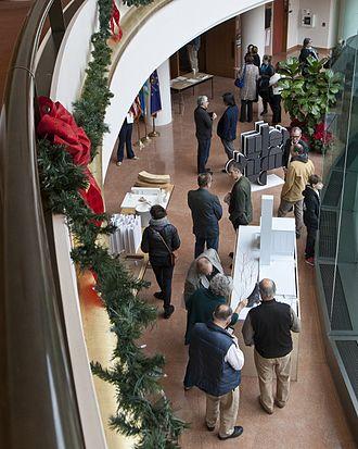 Exhibit Columbus - 2016 Exhibit Columbus Miller Prize Juried Presentations at Columbus City Hall.