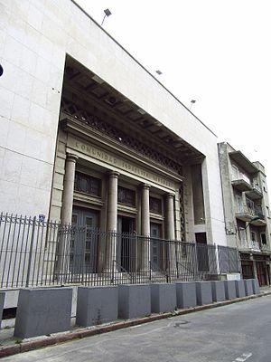 Comunidad Israelita Sefaradí, Montevideo - Image: 2016 Montevideo Comunidad Israelita Sefardí, calle Buenos Aires 232 236