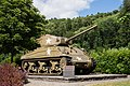 2017-06-24 Sherman Tank at Clervaux Castle, Luxembourg.jpg