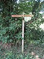 2018-07-23 Finger post direction sign, Craft Lane, Northrepps, Norfolk (1).JPG