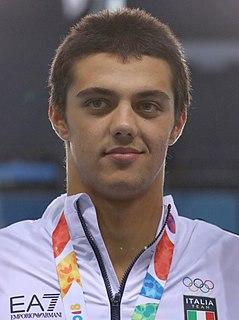 Thomas Ceccon Italian swimmer