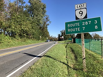 Hillsboro, Loudoun County, Virginia - SR 9 in Hillsboro