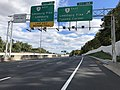 2018-10-24 12 13 11 View east along Virginia State Route 267 (Dulles Toll Road) at Exit 16A (Virginia State Route 7 EAST-Leesburg Pike, Tysons Corner) in Wolf Trap, Fairfax County, Virginia.jpg