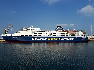 Golden Star Ferries - Image: 20180501 Heraklion Superferry