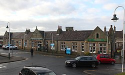 2018 at Carnforth station - forecourt.JPG