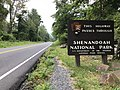 2019-08-13 09 02 47 View west along U.S. Route 211 (Lee Highway) entering Shenandoah National Park within Rappahannock County, Virginia.jpg