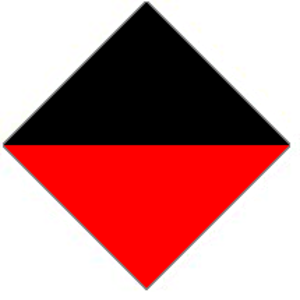 21st Battalion (Australia) - Image: 21st Battalion AIF Unit Colour Patch