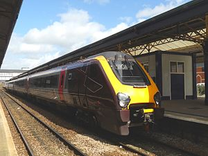 British Rail Class 220 - Cross Country Class 220 No. 220002 at Newton Abbot