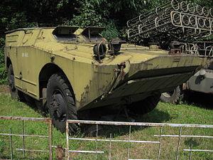 2P111 tank destroyer at the Muzeum Polskiej Techniki Wojskowej in Warsaw.jpg