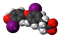 3,3'-Diiodothyronine zwitterion 3D spacefill.png