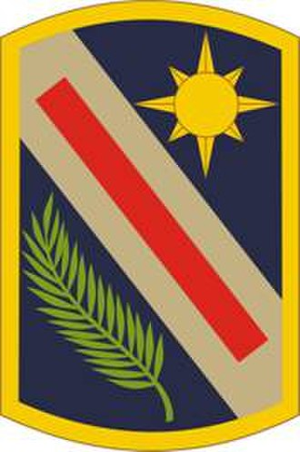 143rd Sustainment Command (Expeditionary) - Image: 321st Sustainment Brigade