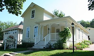 """Betsy-Tacy - """"Betsy's House,"""" 333 Center Street, Mankato, is now a museum."""