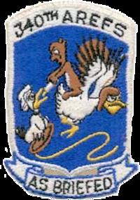 340th Air Refueling Squadron - SAC - Emblem