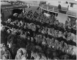 """351st Field Artillery (African American) Troops on the Deck of the """"Louisville."""" Part of the Squadr . . . - NARA - 533486"""
