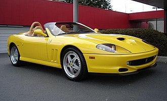 Barchetta - Ferrari 550 Barchetta Pininfarina