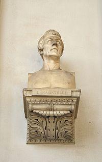 5649 - Palazzo di Brera, Milano - Busto di Luigi Sabatelli - Foto Giovanni Dall'Orto, 1-Oct-2011.jpg