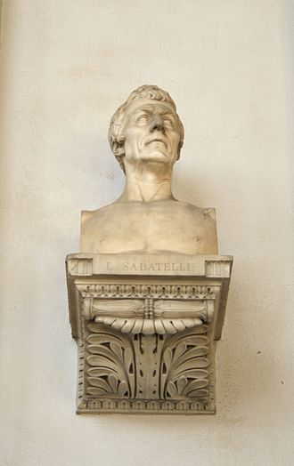 Luigi Sabatelli - Bust of Luigi Sabatelli.