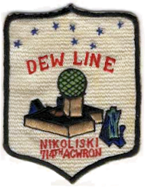 Cold Bay Air Force Station - DEW Line emblem of Detachment 1, 714th Aircraft Control and Warning Squadron