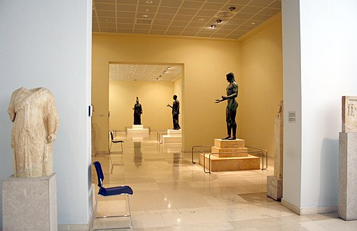7259 - Piraeus Arch. Museum, Athens - Rooms of the bronzes - Photo by Giovanni Dall'Orto, Nov 14 2009.jpg