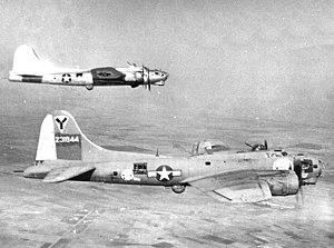 772d Expeditionary Airlift Squadron - 772d Bombardment Squadron B-17G Flying Fortresses in formation