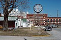 88b194 Colgate Clock without hands, Clarksville, Indiana (24522778100).jpg