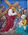 8 Jezus spotyka placzace niewiasty, kolegiata, Lidzbark Warmiński.jpg