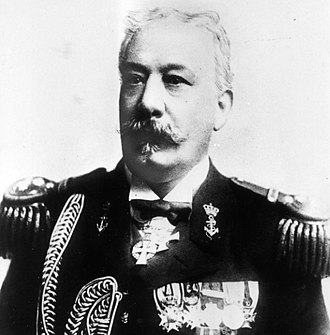 Abraham George Ellis - Vice Admiral A. G. Ellis (1846–1916), Minister of the Navy (1903–1905) and co-founder and first president of the Kon. Ned. Association Our Fleet in 1906