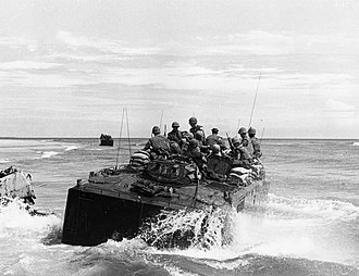 Operation Napoleon/Saline - Company A, 1st Amtrac Battalion, operating north of the Cửa Việt  River, 14 September 1967