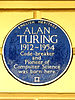 Alan turing   2 warrington cresent maida vale london w9 2er