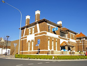 English: ANZ Bank branch in Temora, New South ...