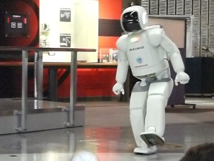 ASIMO sole of the left foot