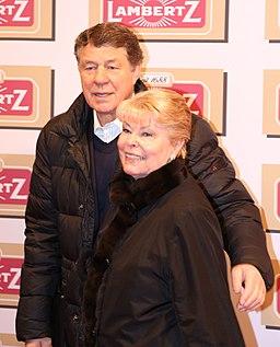 AV0A6459 Otto Rehhagel mit seiner Ehefrau Beate