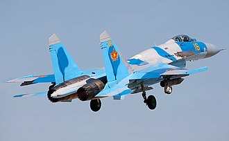 Armed Forces of the Republic of Kazakhstan - A Kazakhstan Sukhoi Su-27