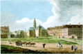 A View of the Jesuits College and Church - Vue de l Eglise et du College des Jesuites , 1761.png