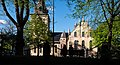 A couple sitting by the Oslo Cathedral, Oslo, Norway (PPL1-Corrected) julesvernex2.jpg