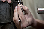 A day in the life of Maintenance, 49th MXS Metals Tech 150406-F-WB620-002.jpg