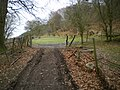 A gate on the hairpin - geograph.org.uk - 1164803.jpg