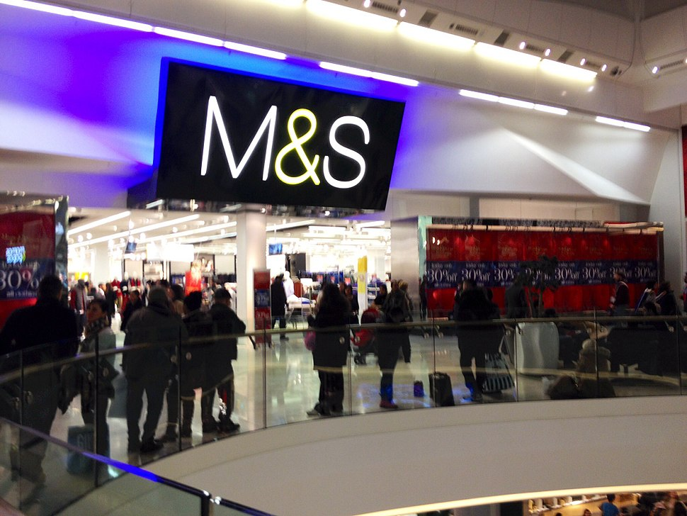 A picture of M&S White City branch in Westfield London 2014-01-17 17-26