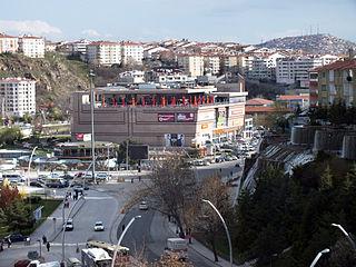 Keçiören District in Central Anatolia, Turkey