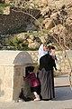 A yazidi woman and a child.jpg