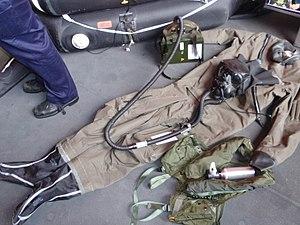 Survival suit - Image: Aa navalflightsuit