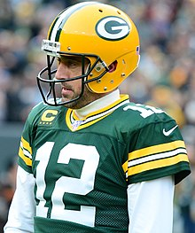 Aaron Rodgers Green Bay Packers NFC Pro Bowl Game Jersey