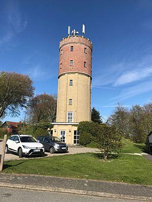 Aars water tower - Image: Aars water tower