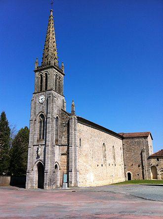L'Absie - The church in L'Absie
