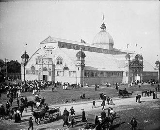 Moses Chamberlain Edey - The Aberdeen Pavilion, Lansdowne Park, Ottawa in 1903